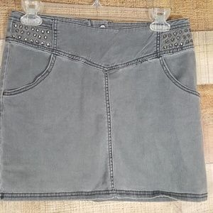 H&M Young Womens Skirt Gray Size Junior M
